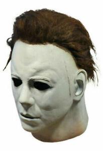 Michael Myers Mask 1978 Halloween Latex Full Head Adult Kids Fancy Dress Party