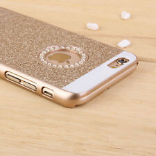 For Apple iPhone 6s Plus Luxury Diamond Crystal Rhinestone Bling Hard Case Cover