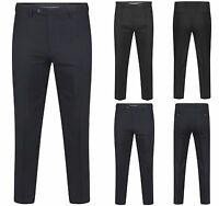 EX MARKS AND SPENCER WATER REPELLENT  WOOL TROUSERS ACTIVE WAIST BAND