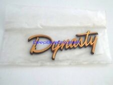 Genuine Dodge Dynasty Gold Emblem NOS 1988-1993 Badge Rear Side Pillar OEM Mopar