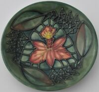 Attractive Moorcroft Pottery Rainforest Dish / Tray Designed By Sally Tuffin
