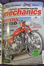 Classic Motorcycles Mechanics Magazine. No. 310, August 2013. Honda CB350.