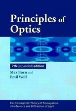 Principles Of Optics: Electromagnetic Theory Of Propagation, Interference And...