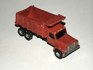 N Scale Dump Truck • Fully Assembled & Realistically Painted Vehicle.
