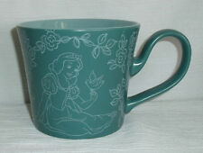 "Snow White Mug Cup Disney Store Exc Green 3.75"" Thailand Bird Large 16 Oz"