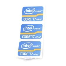 100x  Sticker Badge Label Logo for inter inside Xeon 24.5*18.5mm bule NEW ST066
