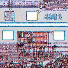 1983 Smithsonian IC History Kilby AMD Intel 4004 CPU Moore's Law 256 Bit RAM Z80