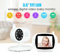 3.5″ Wireless HD Video Baby Monitor 2.4GHz Night Vision Security Camera Viewer