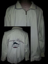 TOMMY BAHAMA Mens Lightweight Windbreaker Jacket Coat XL Pullover Cream White Of
