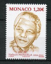 Monaco 2018 MNH Nelson Mandela Birth Centenary 1v Set Famous People Stamps