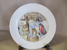 APILCO FRANCE PORCELAIN CHEESE THEMED PLATE - LE MUNSTER  EXCELLENT CONDITION