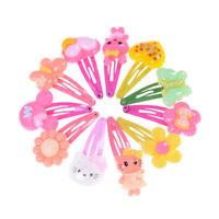 Wholesale 20pcs Mixed Cartoon Styles Baby Kids Girls HairPin Hair Clips T nh