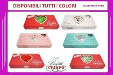 Confetti Crispo Cioccolato 1Kg Bianco Celeste Rosa Verde Rosso Multicolor Evento