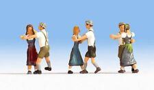 Figuren Noch H0 (15857): Tanzende in Lederhosen
