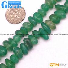 Green Agate Jewellery Beads
