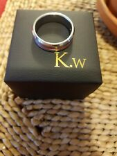 King Will Tungsten Carbide Thin Red Line Size 12.5 6mm ***Amazing Price***