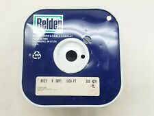 1000' BELDEN 8523 20 AWG Gray PVC Hook Up Wire Stranded 1000 Volt - NEW FREE S/H