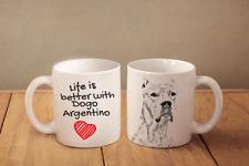 Argentinische Dogge - Keramik Becher DE