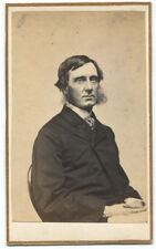 Writer, Abolitionist George W. Curtis CDV Photograph