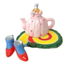 Wizard of Oz Miniature Tea Set Glinda the Good Witch  4 pieces