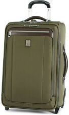 """Travelpro Luggage Platinum Magna 2 22"""" Expandable Rollaboard Carry On - Olive"""