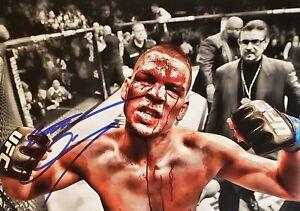 Nate Diaz Autographed Signed 8x10 Photo ( UFC ) REPRINT