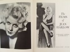 Jean Harlow Films 30s Blonde Bombshell Gable Tracy Powell  Photos HC