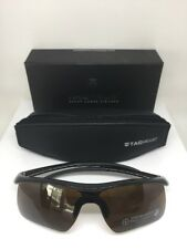 New Tag Heuer Sunglasses Sport Shield TH 6210 C. 001 Black With Brown Shield