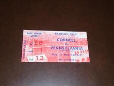 1965 CORNELL AT PENN PENNSYLVANIA COLLEGE FOOTBALL TICKET STUB EX-MINT