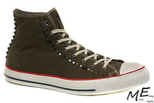 New Converse Studded Men Canvas Fashion Sneaker Boots Sz 9.5 (MSRP $110) 139915C