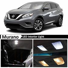 17x White Interior LED Lights Package Kit for 2009-2015 Murano SUV