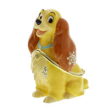 Disney Classic Trinket Box Ornament - Lady from Lady & The Tramp  NEW   22173