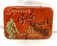 Vintage Tin-Superior Cycle Repair Outfit-Puncture/Cycling/Bicycle