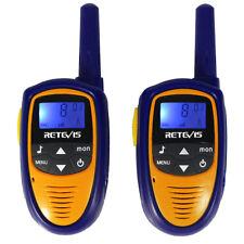 New Mini Walkie-Talkie RT31 8CH 0.5W UHF VOX LCD Display Two Way Radio Xmas Toy
