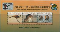 Australia 1994 SG1459-1461 Kangaroos china ovpt sheet MNH