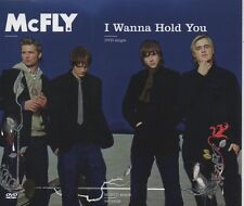 McFLY I wanna hold you 3 TRACK CD / DVD  + POSTER    NEW - NOT SEALED