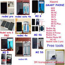 OEM for Xiaomi 3/4/4i/4s/4c/5/5s/5c Redmi 4/4a/4x LCD Display Touch Screen