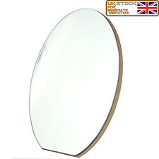 Beautiful Style Table & Wall Mirror MDF Back & Glass Mirror Modern Design Small
