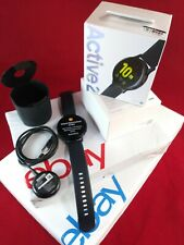 OB Samsung Galaxy Watch Active 2 SM-R820 44mm with GPS Sport Band-BLACK Open Box