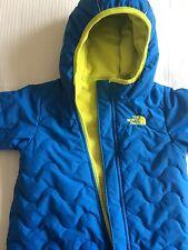 The North Face bébé garçon 6-12 mois Matelassé Thermique Combinaison de ski-Excellent!