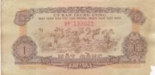1963 South Viet-Nam 1 Dong Viet Cong Note, Pick R4