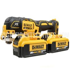 DeWalt DCS355B 20V MAX Cordless Brushless Oscillating Multi Tool 4.0Ah Batteries