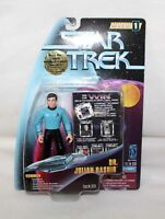 "1997 STAR TREK Warp Factor Series 1 ""DR JULIAN BASHIR"" Action Figure IOP"