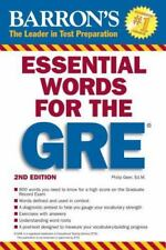 Barron's Essential Words for the GRE (Barron's GRE)