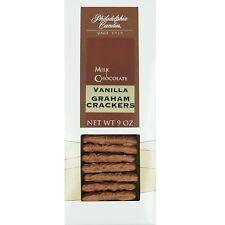 Philadelphia Candies Vanilla Graham Crackers, Milk Chocolate Covered 9 Ounce