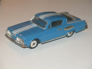 Ideal Motorific Classic Plymouth Barracuda with chassis and motor