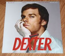 Dexter Soundtrack Vinyl LP Clear Record Blood Spatter Season 1 Michael C Hall TV