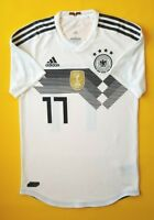 5+/5 Germany soccer match issue jersey small 2018 shirt BR7313 Adidas ig93