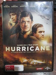 DVD Hurricane Fighter Pilots Story WW2 RAF Polish Movie New Release