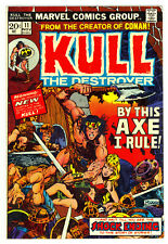 Kull the Destroyer #11 VF+ 1973 Marvel Comic Book